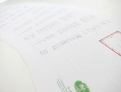 来年の運勢の鑑定書イメージ4